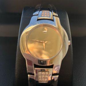 Movado Amorosa Watch Diamonds 84 E4 1842